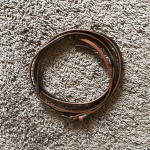 Two-toned brown belt